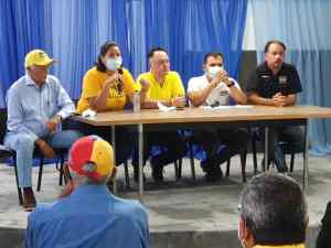 Comité Político de Primero Justicia en Bolívar afinó estrategias para la Consulta Popular