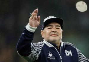 Justicia argentina frenó el uso comercial de la marca Maradona