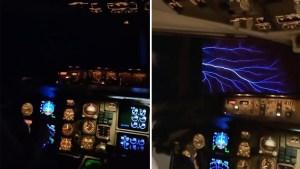 Azafata muestra un extraño fenómeno natural en pleno vuelo (VIDEO)