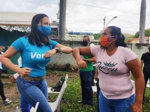María Corina desde Aragua: Buscan convertir a Venezuela en la mayor lavadora de dinero del mundo