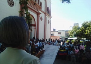 Docentes de Carúpano exigieron la libertad de Robert Franco