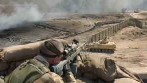 Un francotirador británico mata a cinco miembros del Estado Islámico con un solo disparo