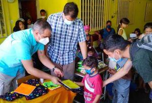 Ocariz pidió no criminalizar a organizaciones que ayudan a mitigar la crisis humanitaria