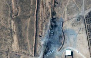 Así se quedó el lugar atacado por EEUU en el este de Siria (VIDEO)