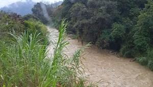 EN FOTOS: Así se encuentra el río Chama tras fuertes lluvias en Mérida #27Feb