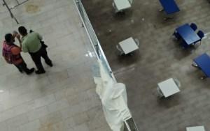 Hombre se quitó la vida en el CC Millenium de Los Dos Caminos: Se lanzó al vacío desde el último piso (FOTO)