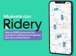 Conoce Ridery, la mejor alternativa para moverse en Caracas de forma cómoda y segura