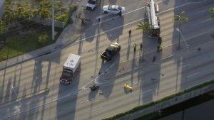 Murió un motociclista tras aparatoso accidente en Hialeah