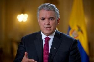 Duque recibió vacunas donadas por EEUU, también destinadas para migrantes venezolanos