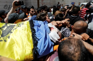 """Los enfrentamientos entre Israel y los palestinos dejan ya 50 muertos y hacen temer una """"guerra a gran escala"""""""