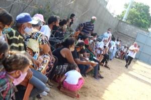 Partido Centro Democrático benefició con jornada social a vecinos de Guaicaipuro en Venancio Pulgar