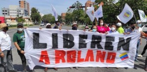 Roland Carreño cumple 11 meses secuestrado por la dictadura de Maduro