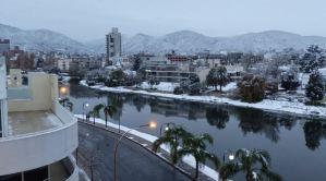 Ciudad argentina de Córdoba volvió a cubrirse de blanco con su primera nevada en catorce años (Fotos)