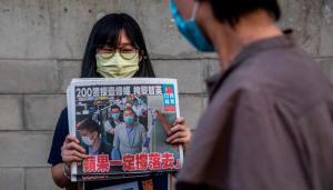 Policía de Hong Kong allanó diario prodemocracia Apple Daily y detuvo a cinco ejecutivos