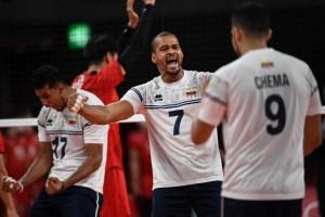 Venezuela cayó contra Japón en su debut en el voleibol olímpico
