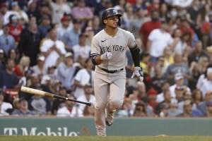 Gleyber Torres aportó la carrera del triunfo de Yankees sobre Medias Rojas