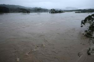 Fuertes lluvias provocan inundaciones en el Caribe de Costa Rica