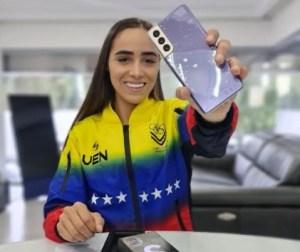Claudymar Garcés lista para cumplir su sueño olímpico junto a CLX Samsung