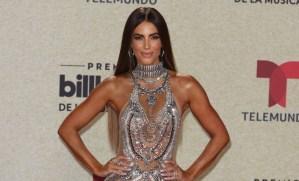 ¡DEOOSS! Gaby Espino usó un vestido transparente en los Billboards y mostró ALGO MÁS que una cara bonita… (FOTOS)