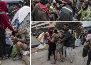 Las IMÁGENES más desgarradoras del desalojo de venezolanos en Chile