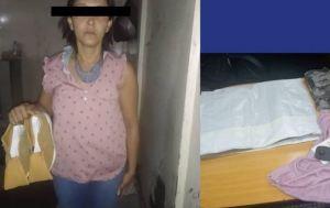 Detuvieron a una mujer por hurto y agresiones en una tienda de Altamira (Video)