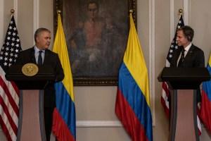 Blinken elogió a Colombia como modelo para el mundo por su acogida de migrantes venezolanos