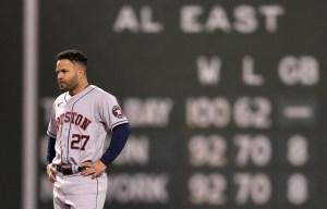 Astros sometieron a Medias Rojas y empataron la Serie de Campeonato en la Americana