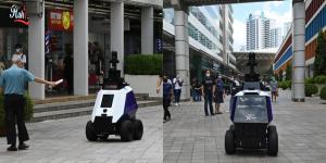 """Terror por robots que controlan el """"comportamiento no deseable"""" en Singapur (Fotos)"""