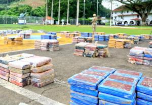 Imágenes: Decomisaron en Panamá casi dos mil paquetes de droga que iban rumbo a Bélgica